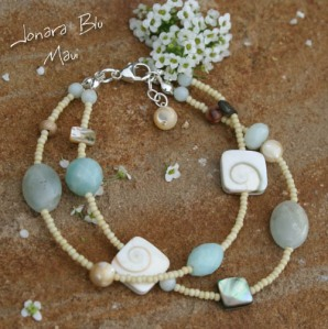 Sandy Beach Boho Double Strand Bracelet